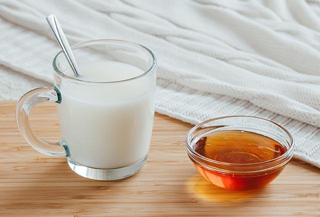 Heiße Milch Mit Honig Abnehmen