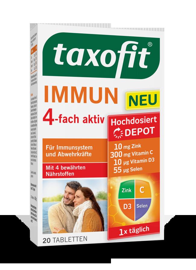 taxofit® Immun 4-fach aktiv Tabletten