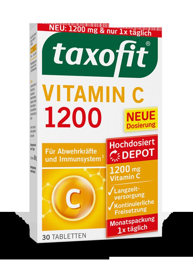 taxofit® Vitamin C 1200 Depot Tabletten