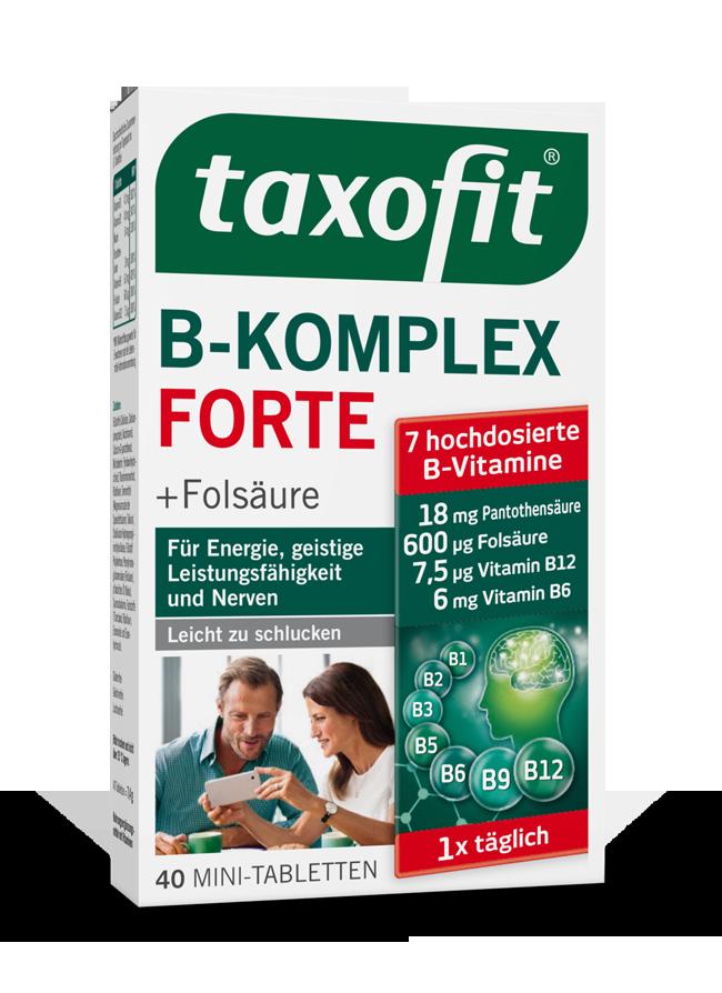taxofit® B-Komplex Forte Tabletten