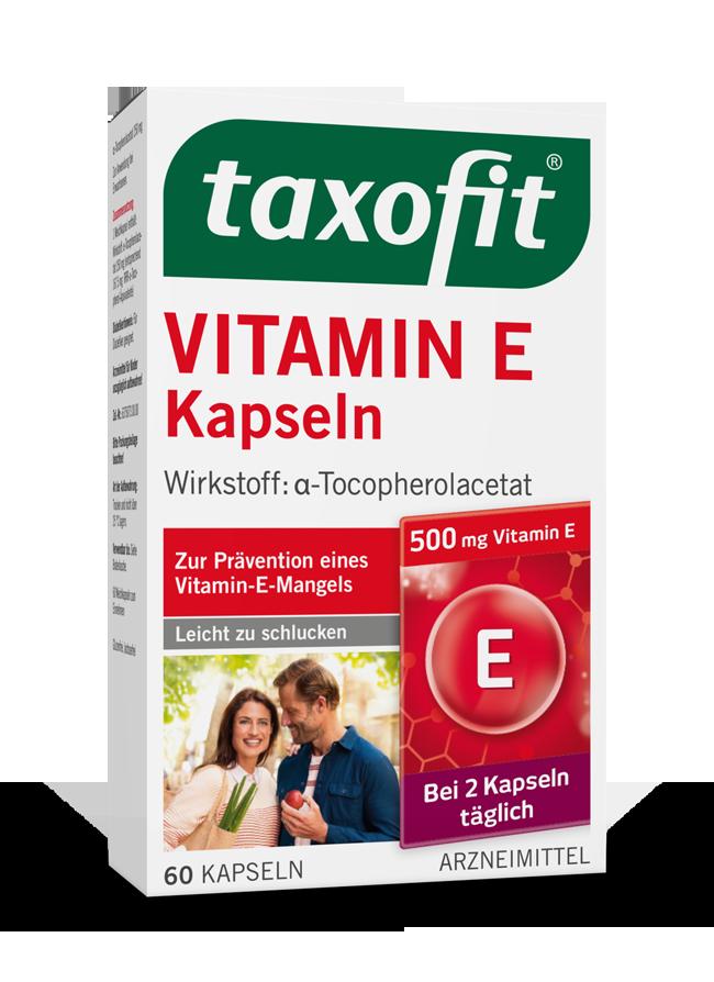 taxofit® Vitamin E Kapseln