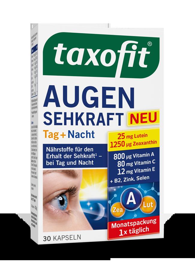 taxofit® Augen Sehkraft Tag + Nacht Kapseln
