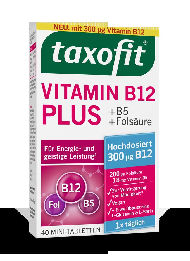 taxofit® Vitamin B12 Plus Mini-Tabletten