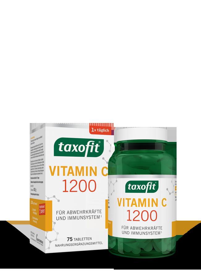 taxofit® Vitamin C Depot Tabletten
