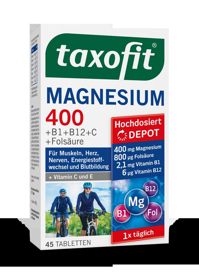 taxofit® Magnesium 400 Depot Tabletten
